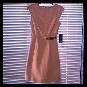 NWT Jennifer Lopez light blush dress